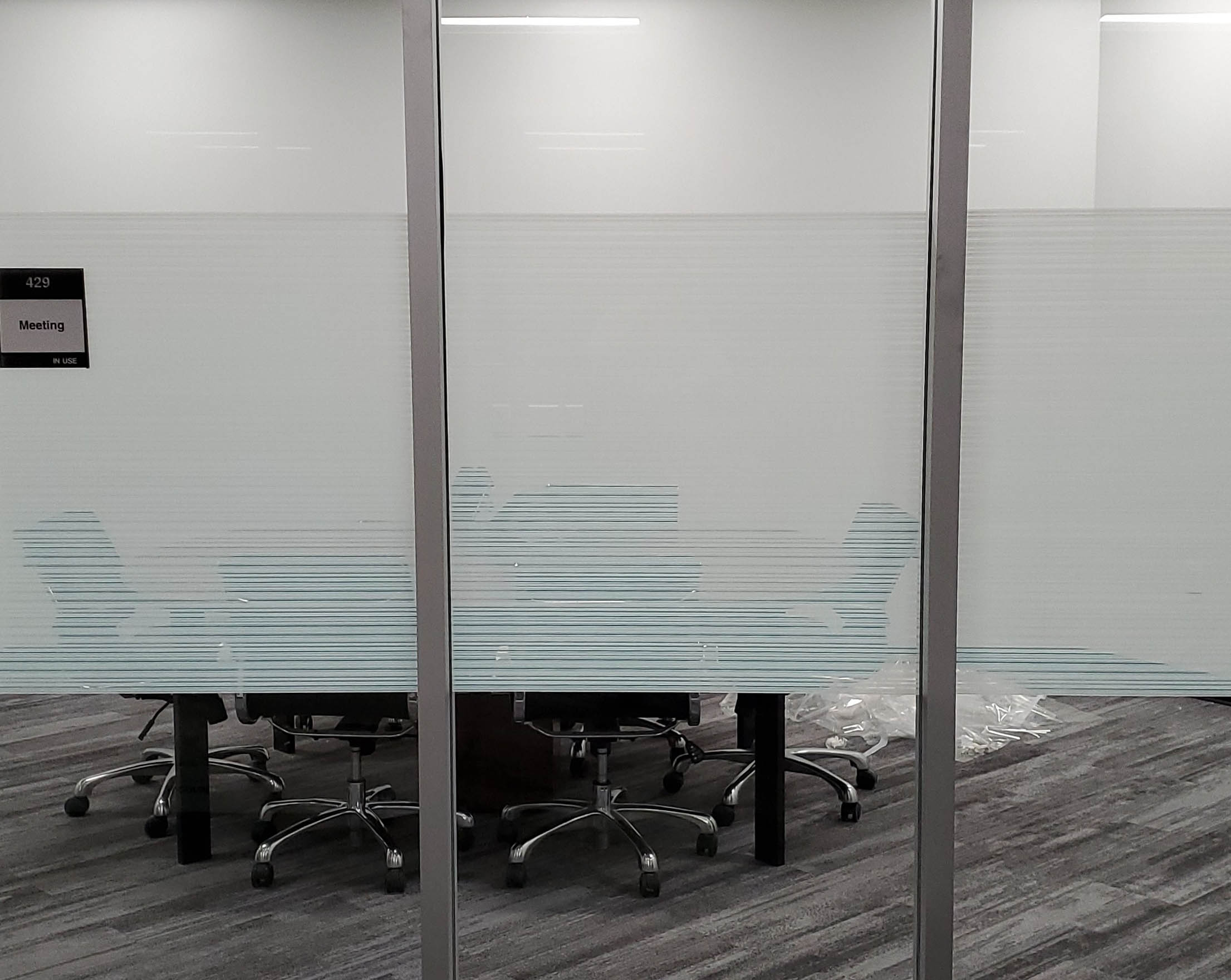 office window tinting gives privacy
